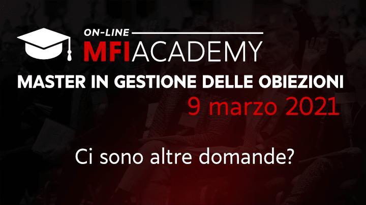 Mike Ferry Italy - master in gestione delle obiezioni